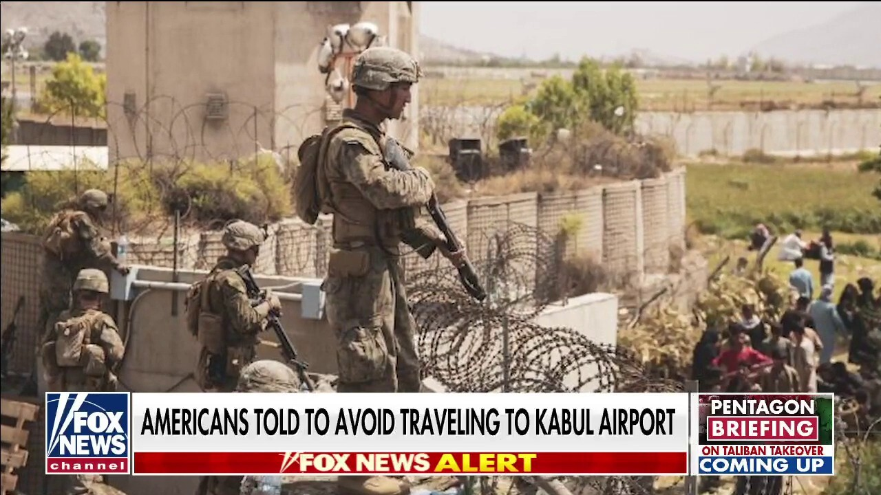 Trey Yingst live in Doha: Americans told to avoid traveling to Kabul airport