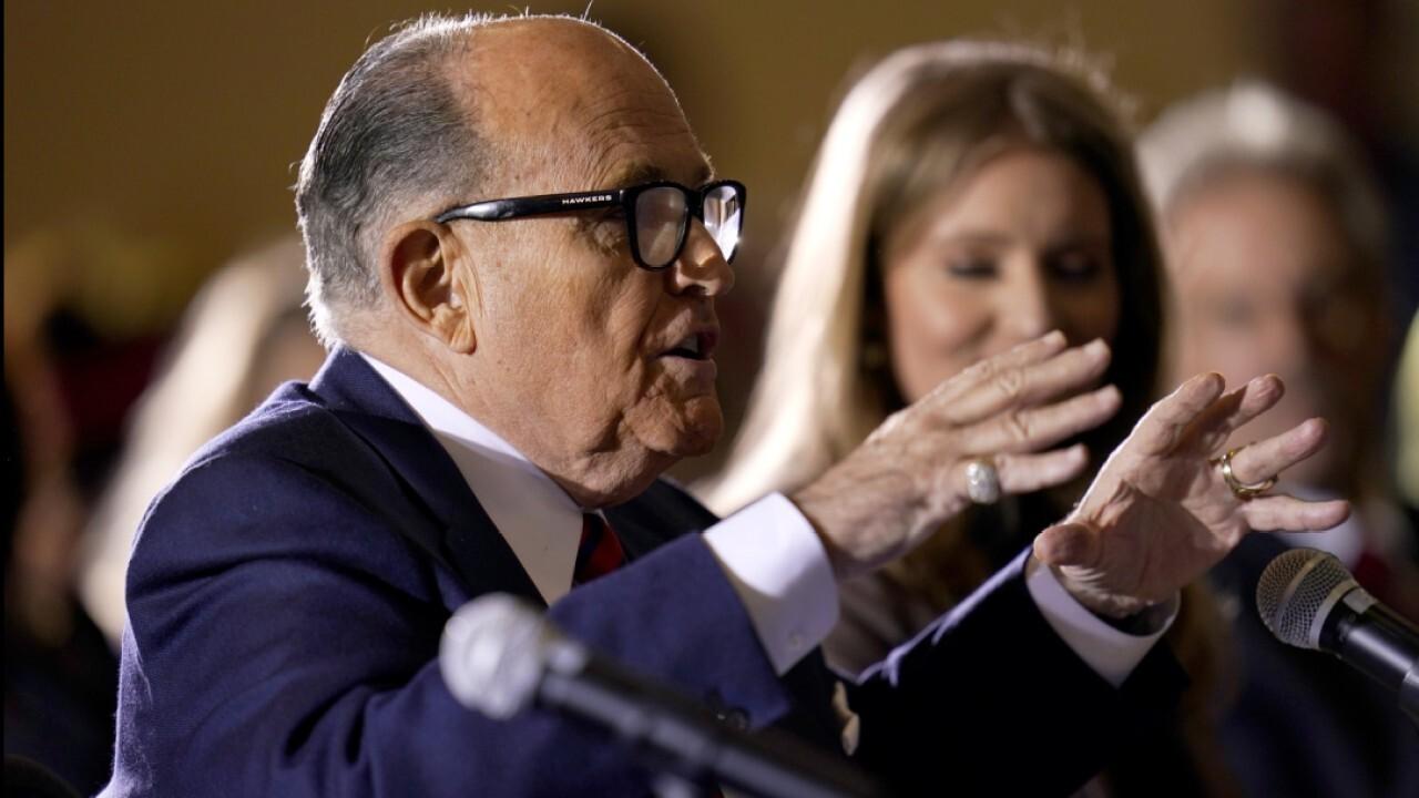 'The Five' react to raid on Rudy Giuliani's home