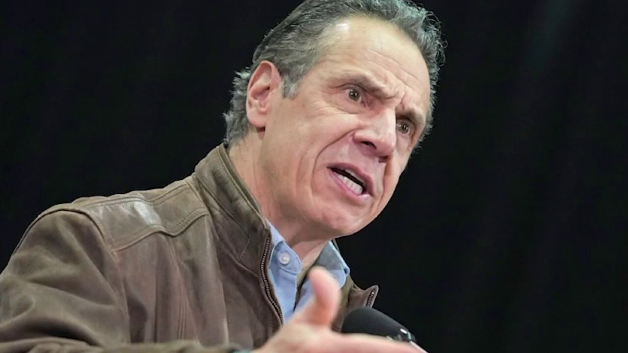 Cuomo sexual harassment claims prompt call for NY state investigation