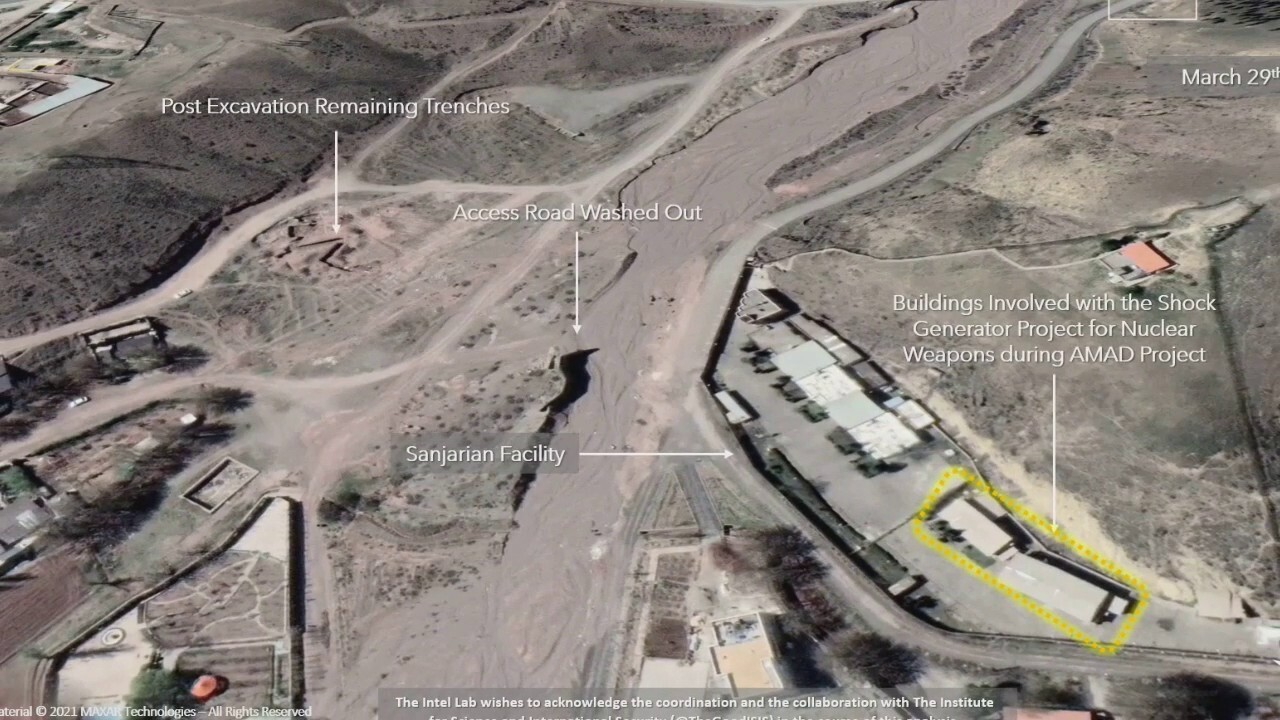 Satellite images of Iran nuclear site raise alarms as IAEA meets in Vienna