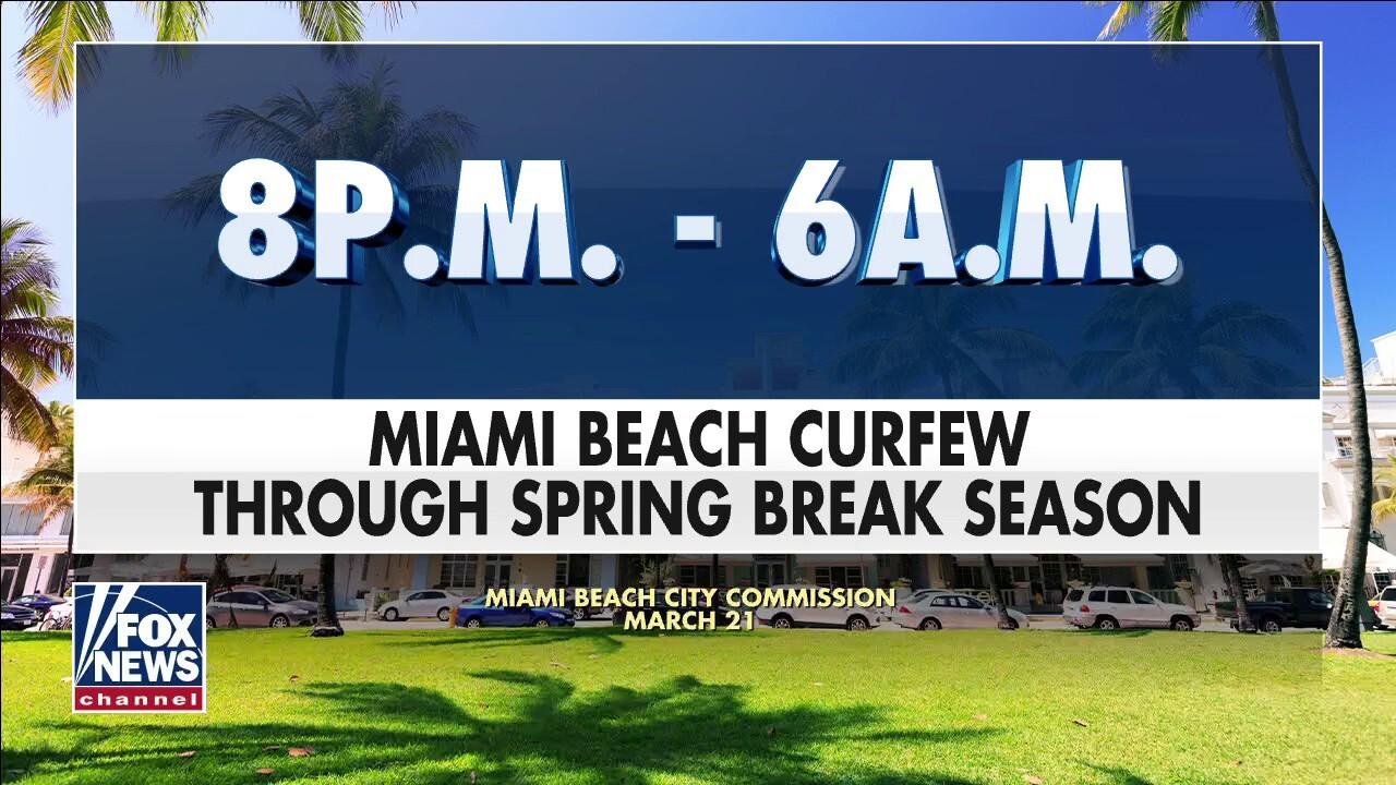 Spring break mayhem forces Miami Beach to extend state of emergency