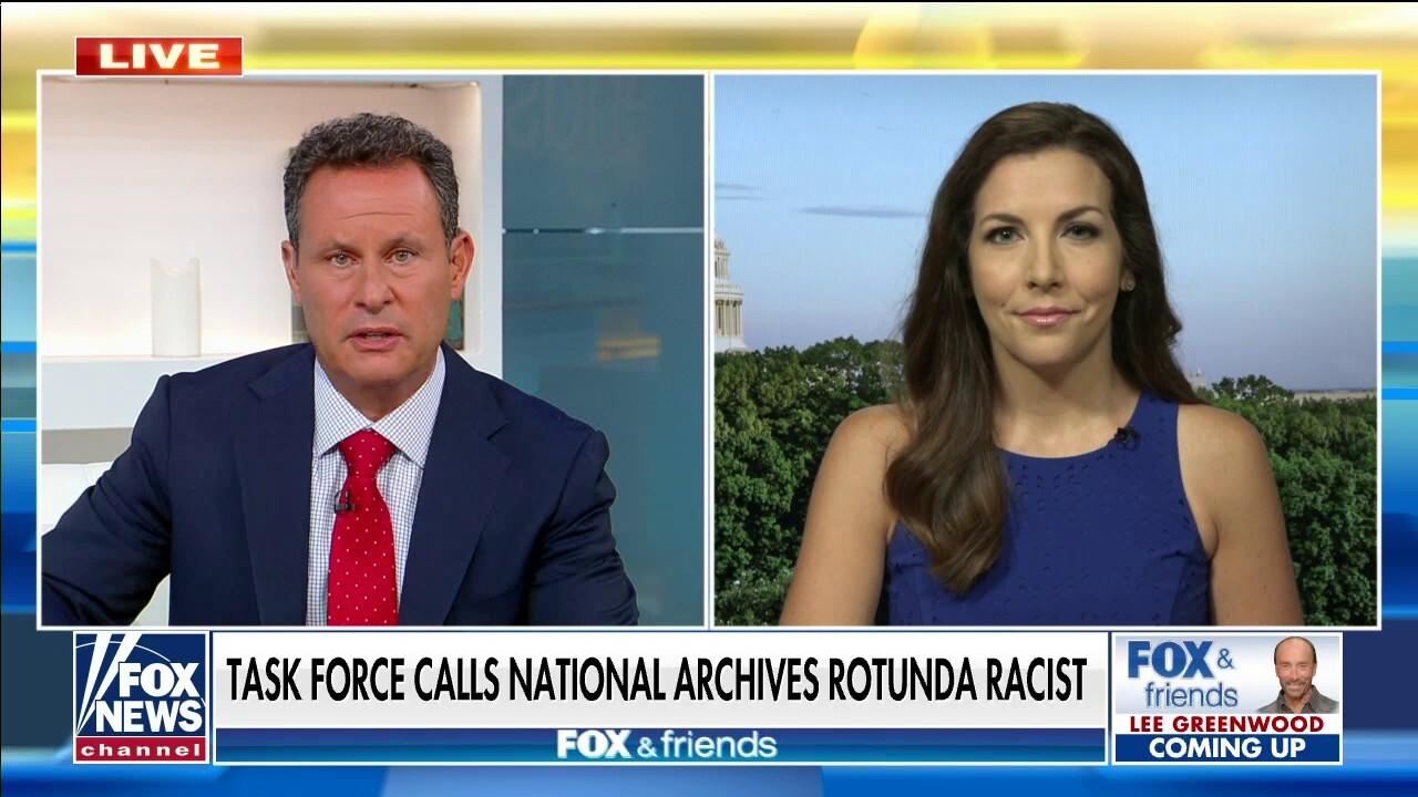 Task force calls National Archives rotunda 'racist'