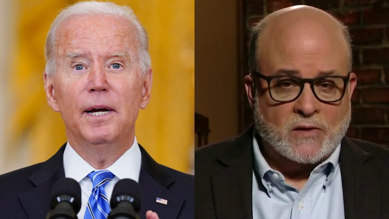 Mark Levin: Trump is not an ideologue, Biden blaming former president is a 'disgusting' effort to deflect blame