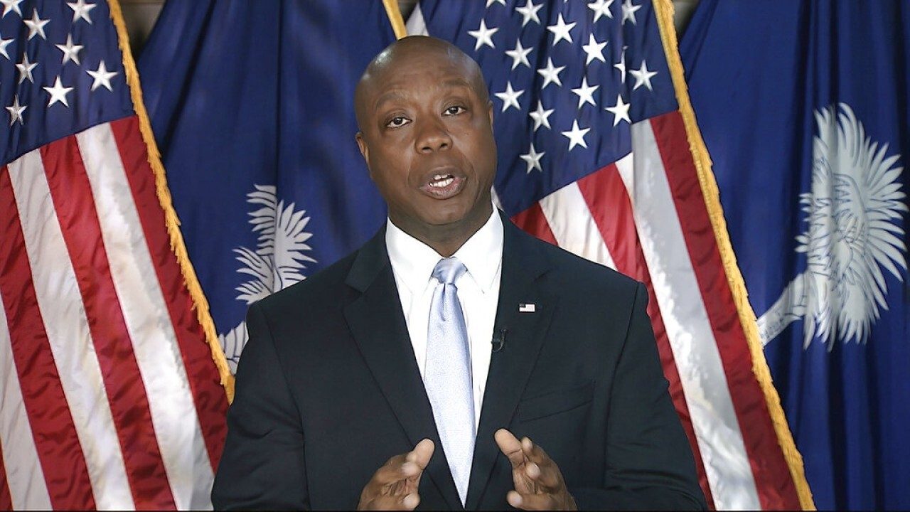 Sen. Cruz reacts to left's attack on Sen. Tim Scott: 'It's disgusting'