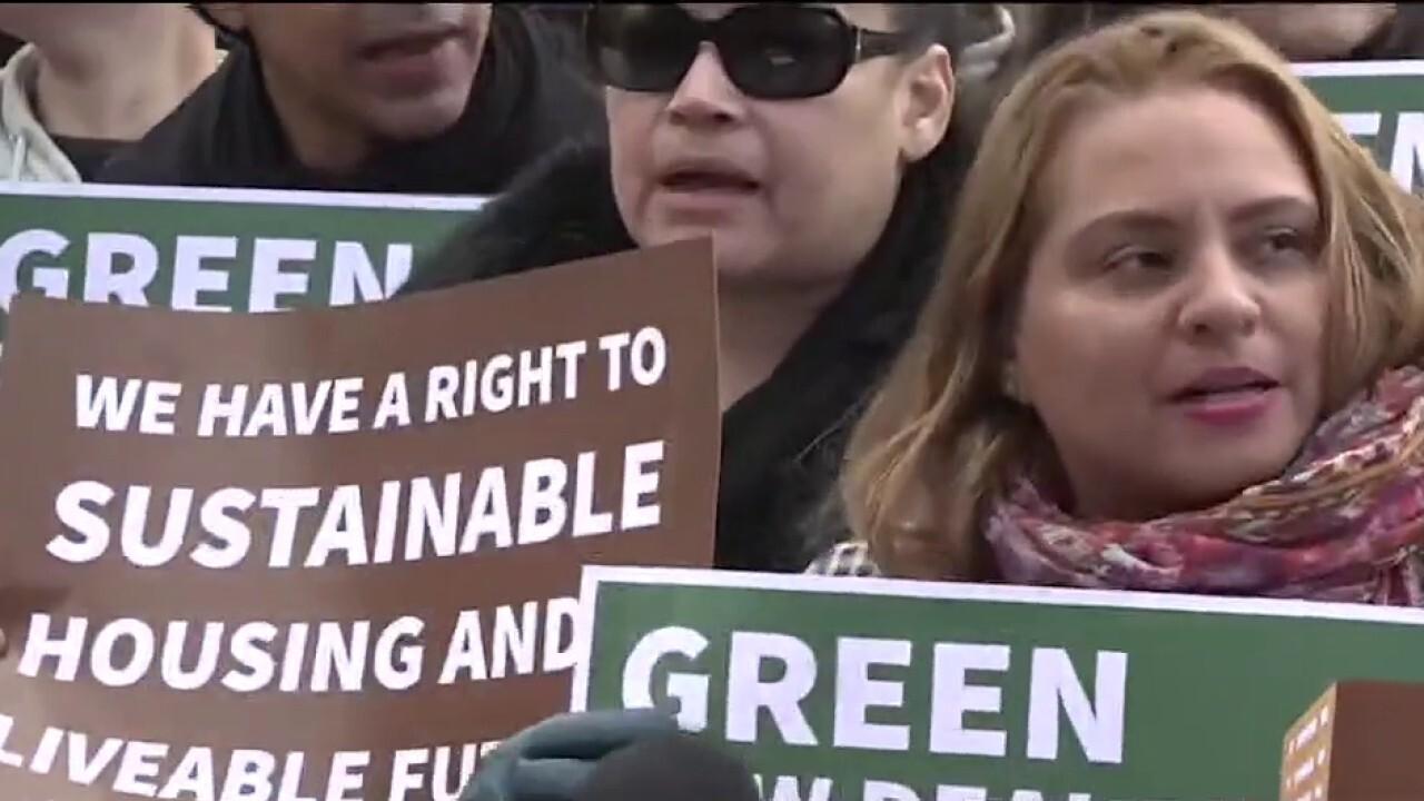Republicans blast infrastructure bill as 'Trojan horse' for Green New Deal