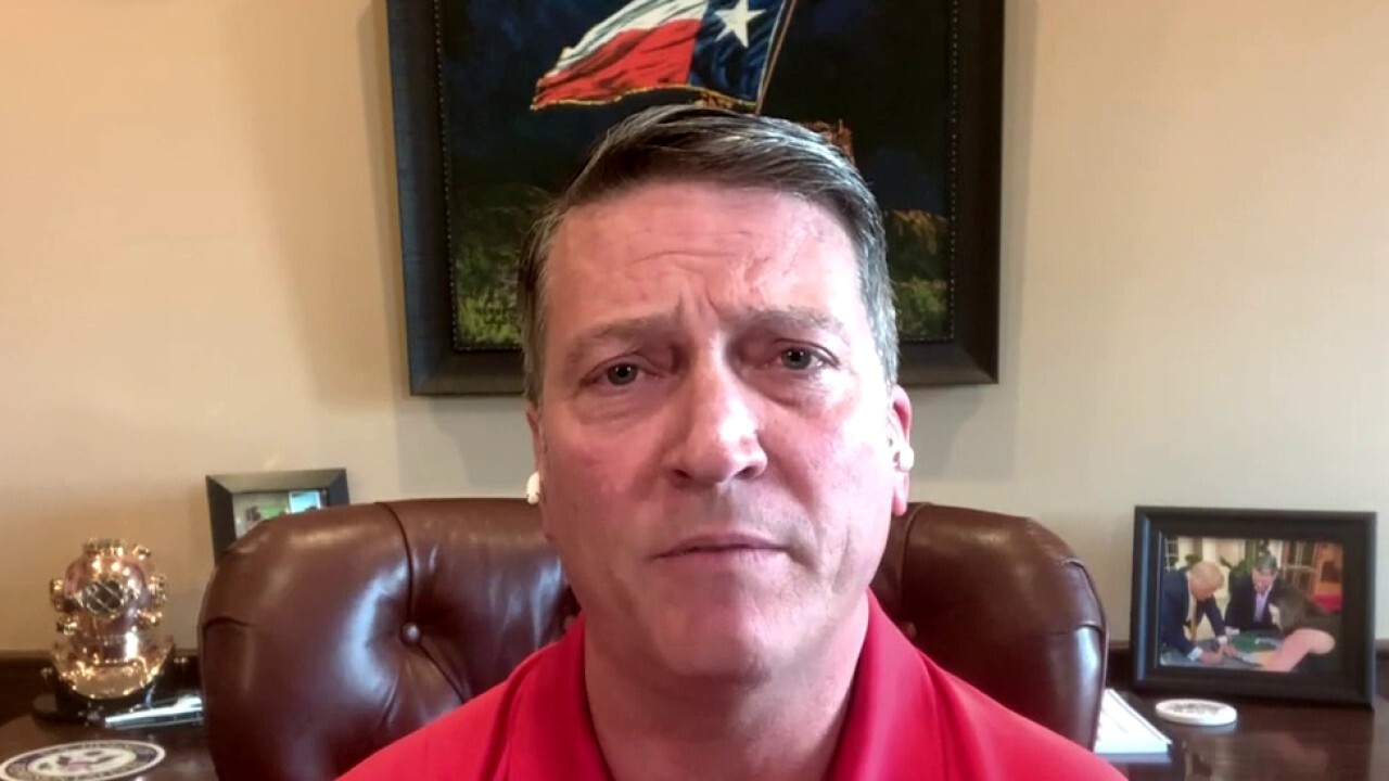 Rep. Ronny Jackson calls Afghanistan withdrawal an 'unmitigated disaster'