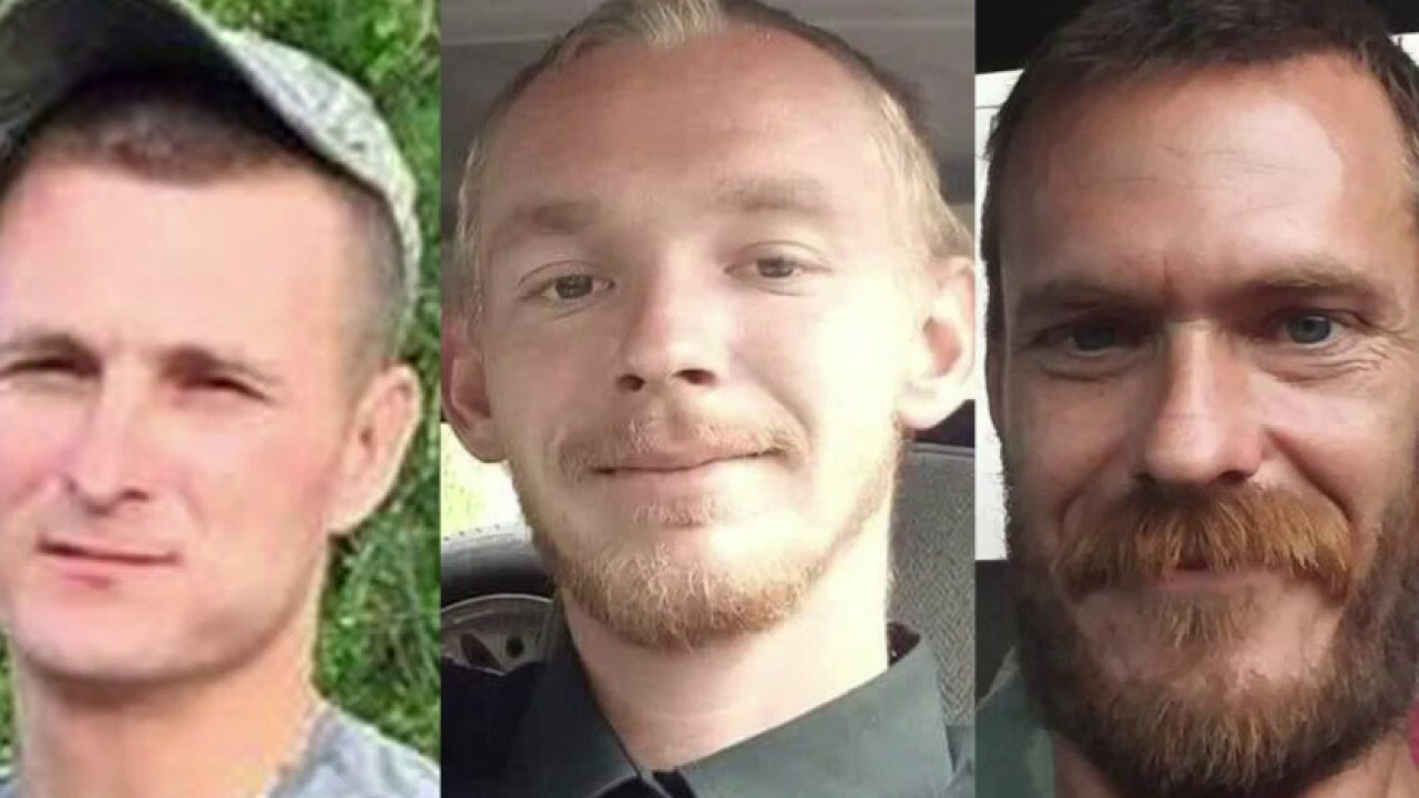 Manhunt in Florida after three friends are 'massacred' on fishing trip