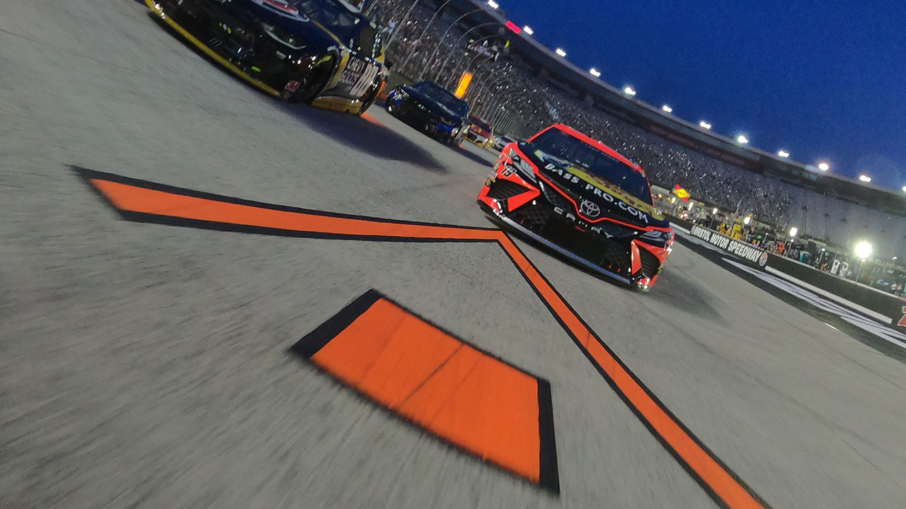 What is the NASCAR 'choose rule'?
