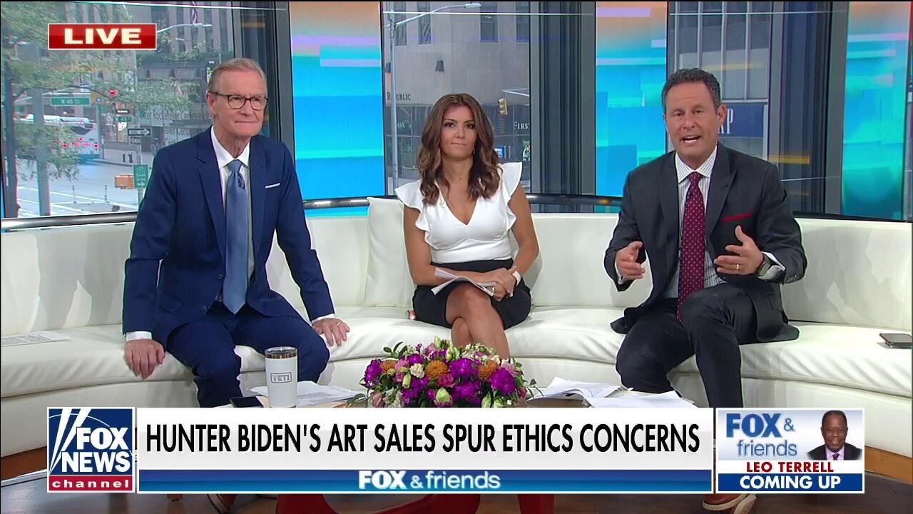'Fox & Friends' hosts question the ethics of Hunter Biden's art sales