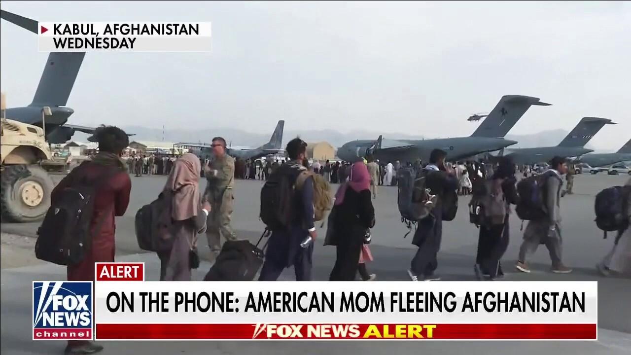 Afghan interpreter: 'President Biden, get our Americans home safe'