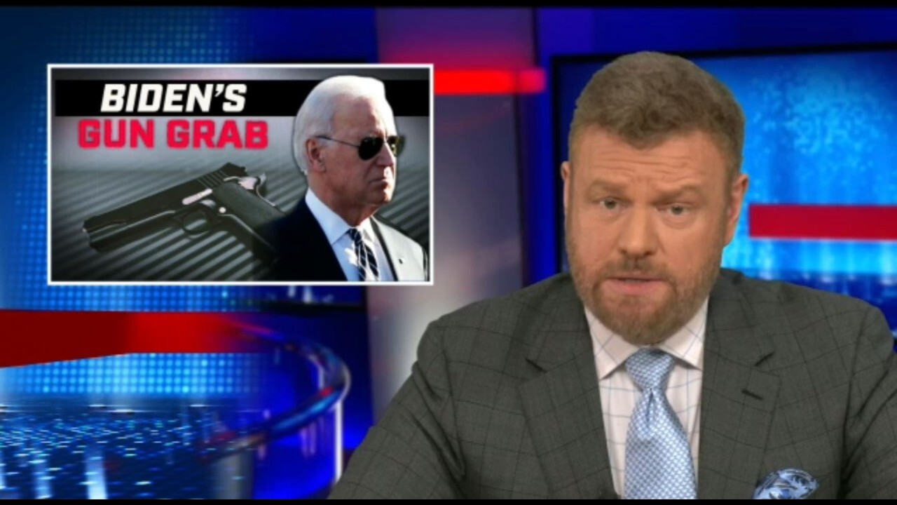 Mark Steyn pushes back on Biden's 'gun grab' by executive order