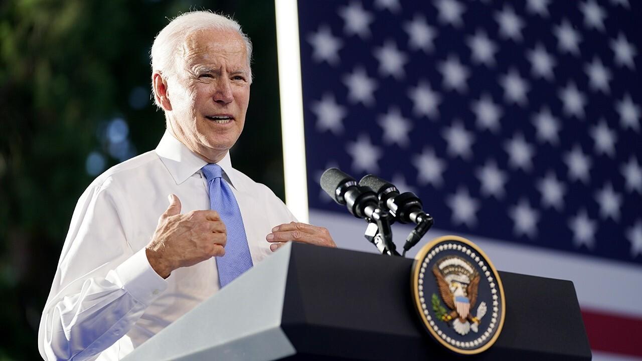 Senators unveil text of Biden's $3.5 trillion bill