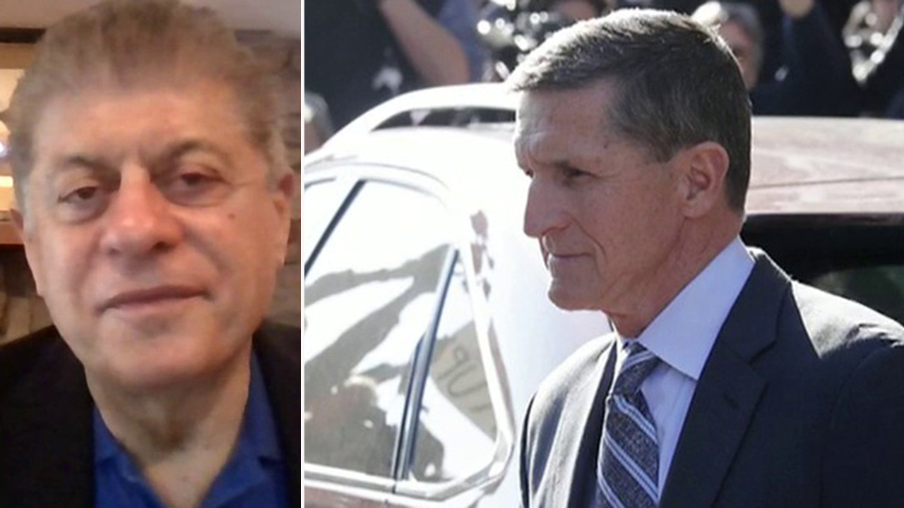 Napolitano: DOJ should denounce what its own FBI agents did to Michael Flynn