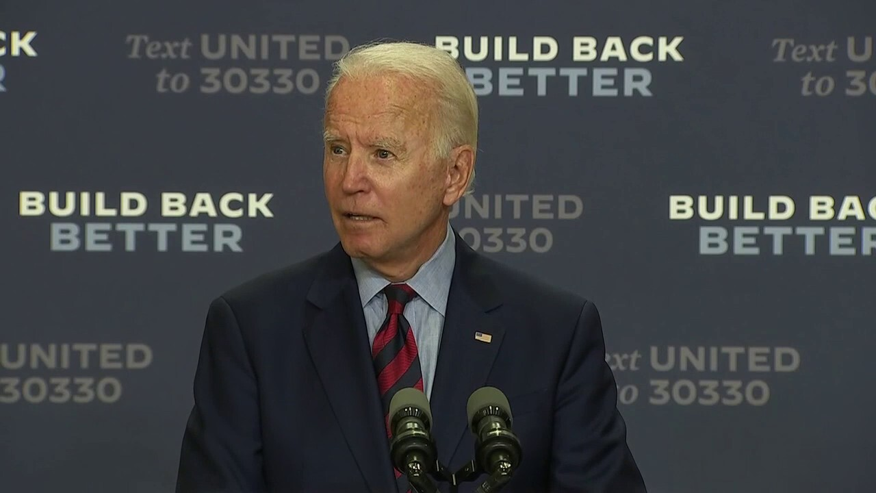 Joe Biden on QAnon: I'm a big supporter of mental health