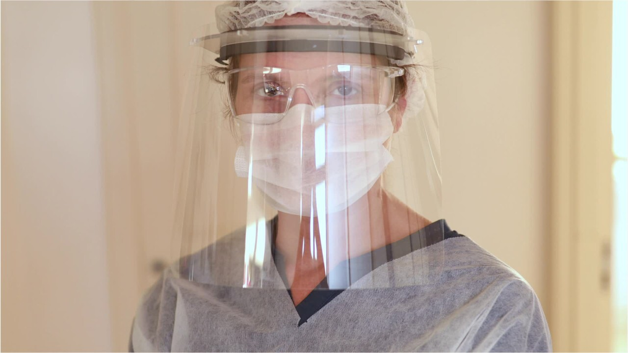 Face shields may offer less protection from coronavirus, study shows
