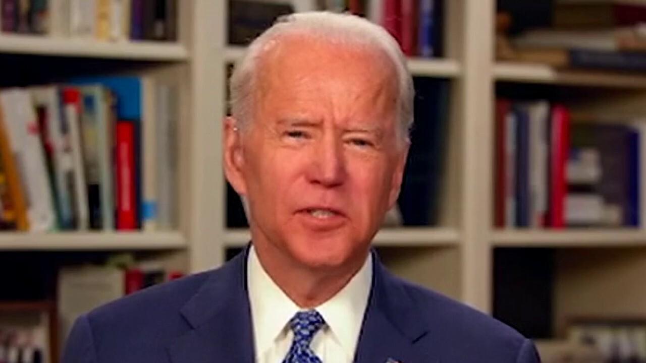 Joe Biden floats idea of virtual Democratic National Convention amid COVID-19 crisis