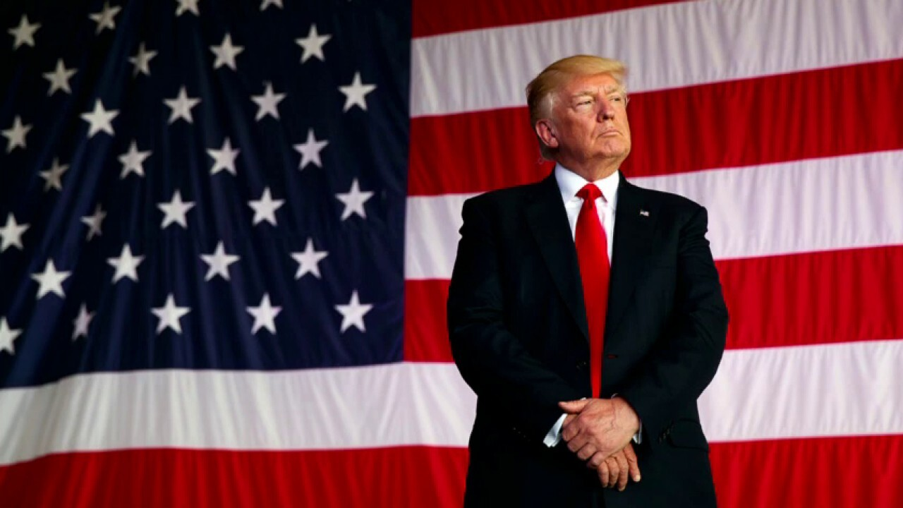 Former President Trump holds rally in Florida