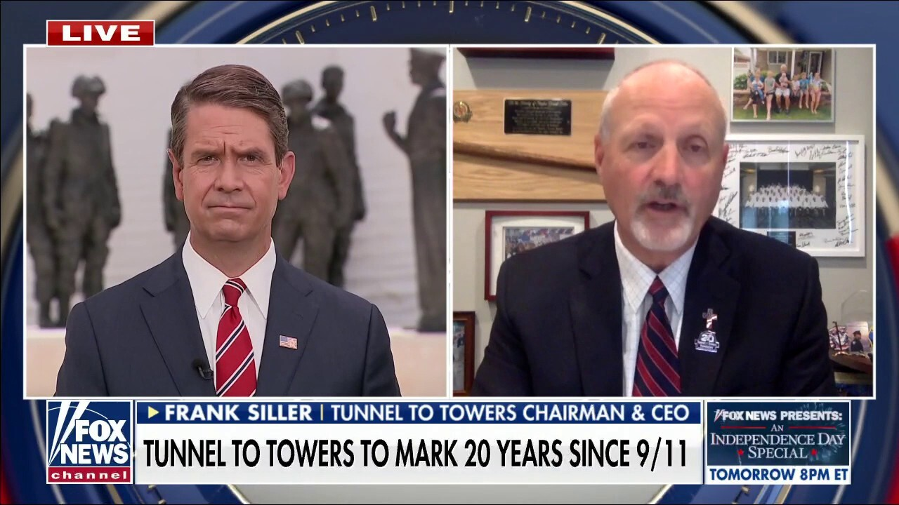 Tunnel to Towers CEO on how he plans to honor the the 20th anniversary of 9/11