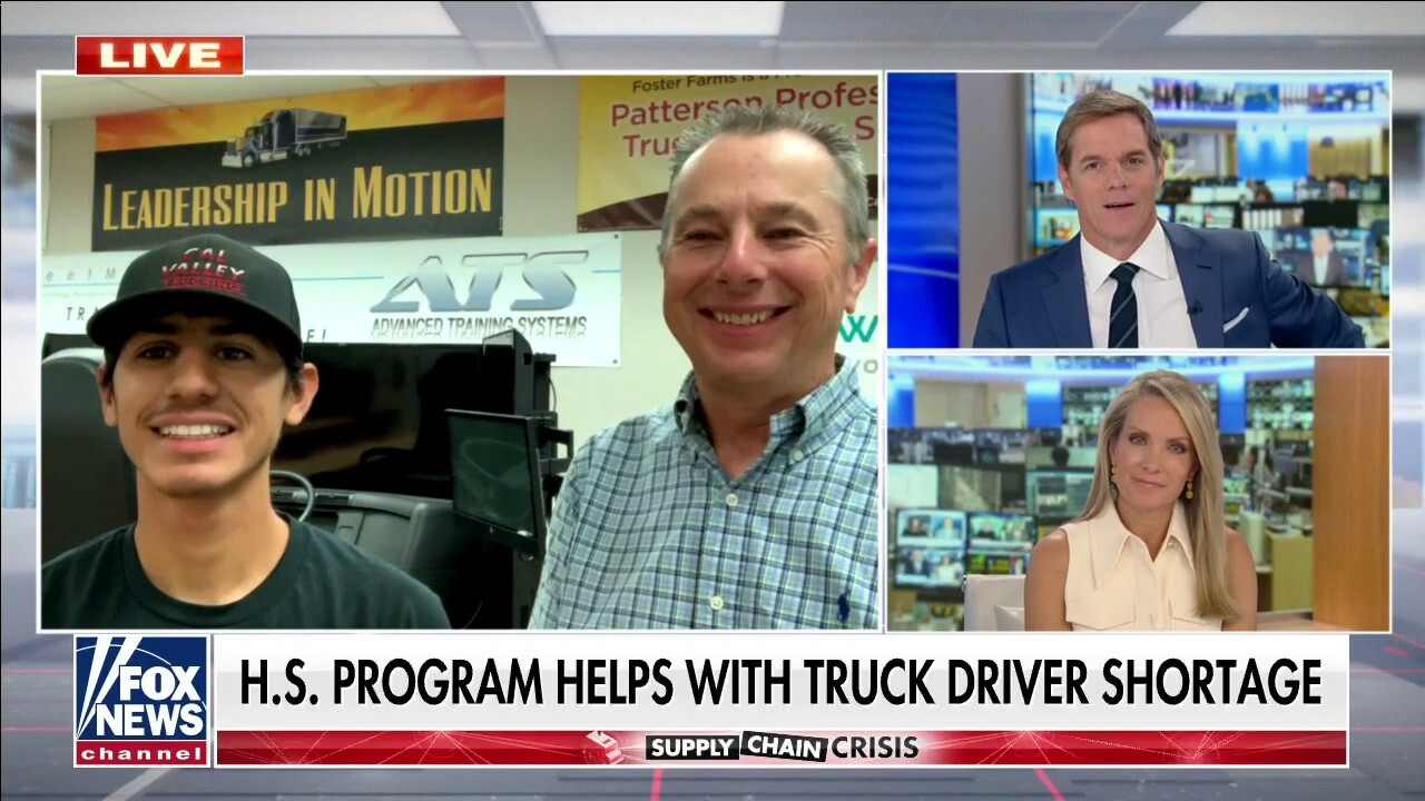 High school program helping with truck driver shortage