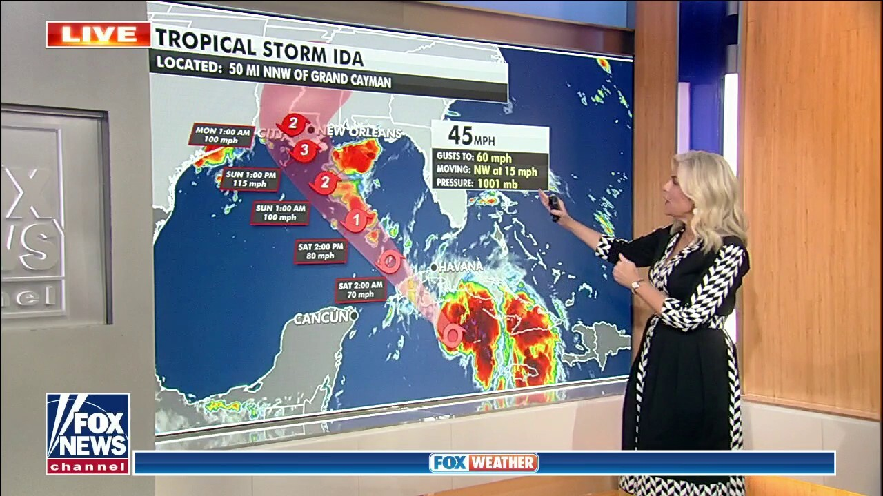 National weather forecast for August 27