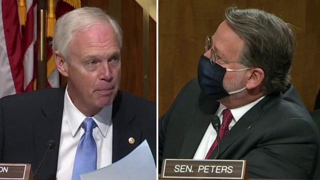 Senate committee hearing explodes as GOP chairman accuses Democrat of spreading Russian misinformation