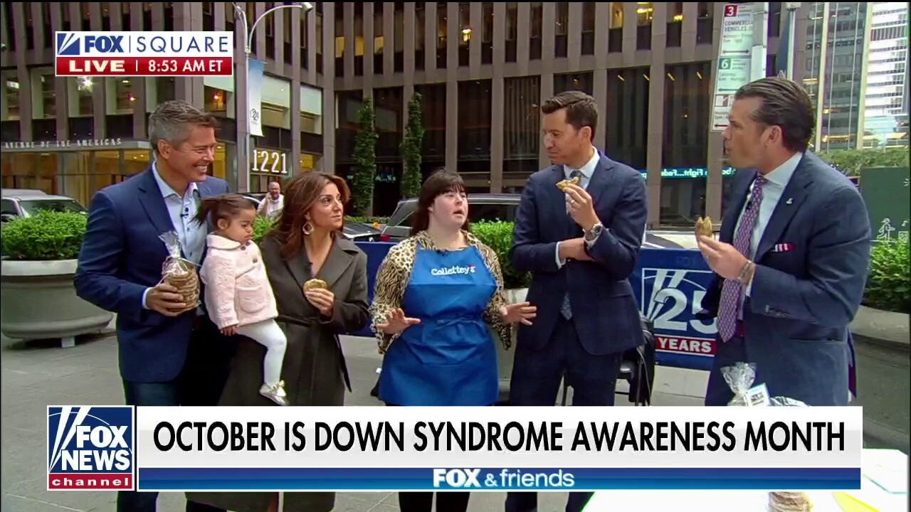 Businesses raise awareness and charity for Down syndrome
