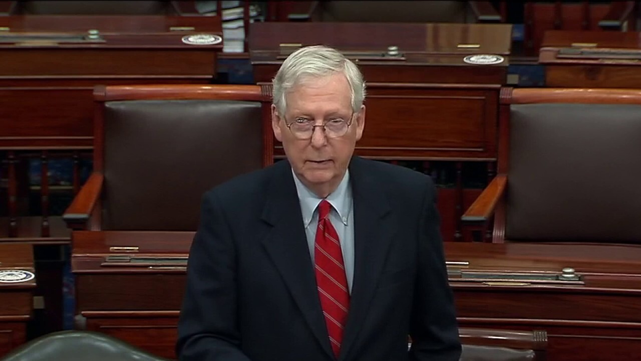 Trump is 'within his rights' to look into election irregularities: Sen. McConnell