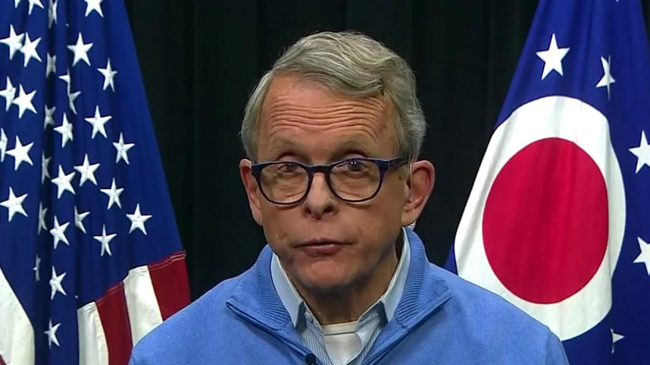 Ohio Gov. Mike DeWine on decision not to postpone Tuesday's primary amid coronavirus pandemic