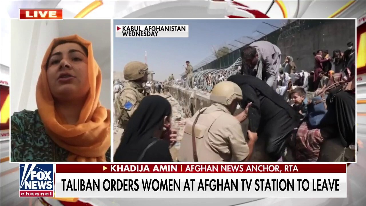 Taliban take over: Taliban order women to leave news studios
