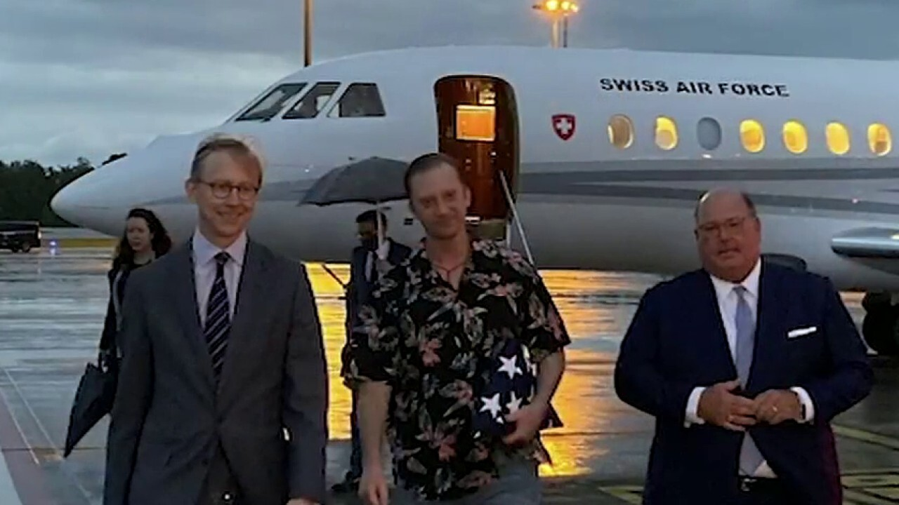 Jim Hanson reacts to US Navy veteran detained in Iran finally freed