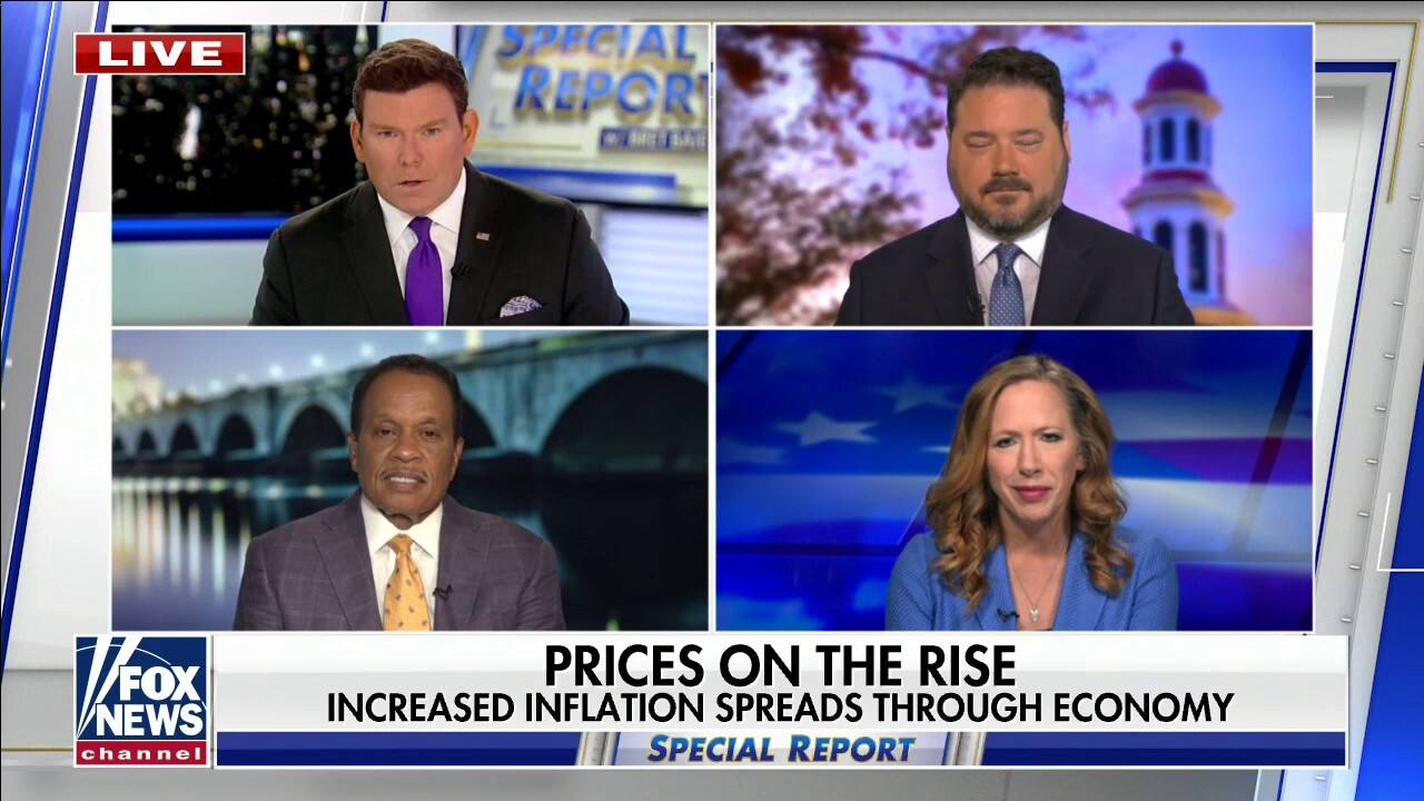 Strassel slams 'double-whammy' causing inflation under Joe Biden