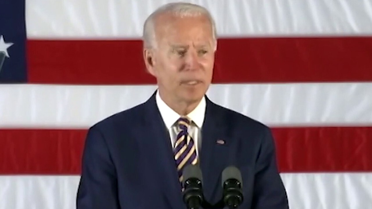 Biden condemns rise in violence, blames Trump for stoking hatred