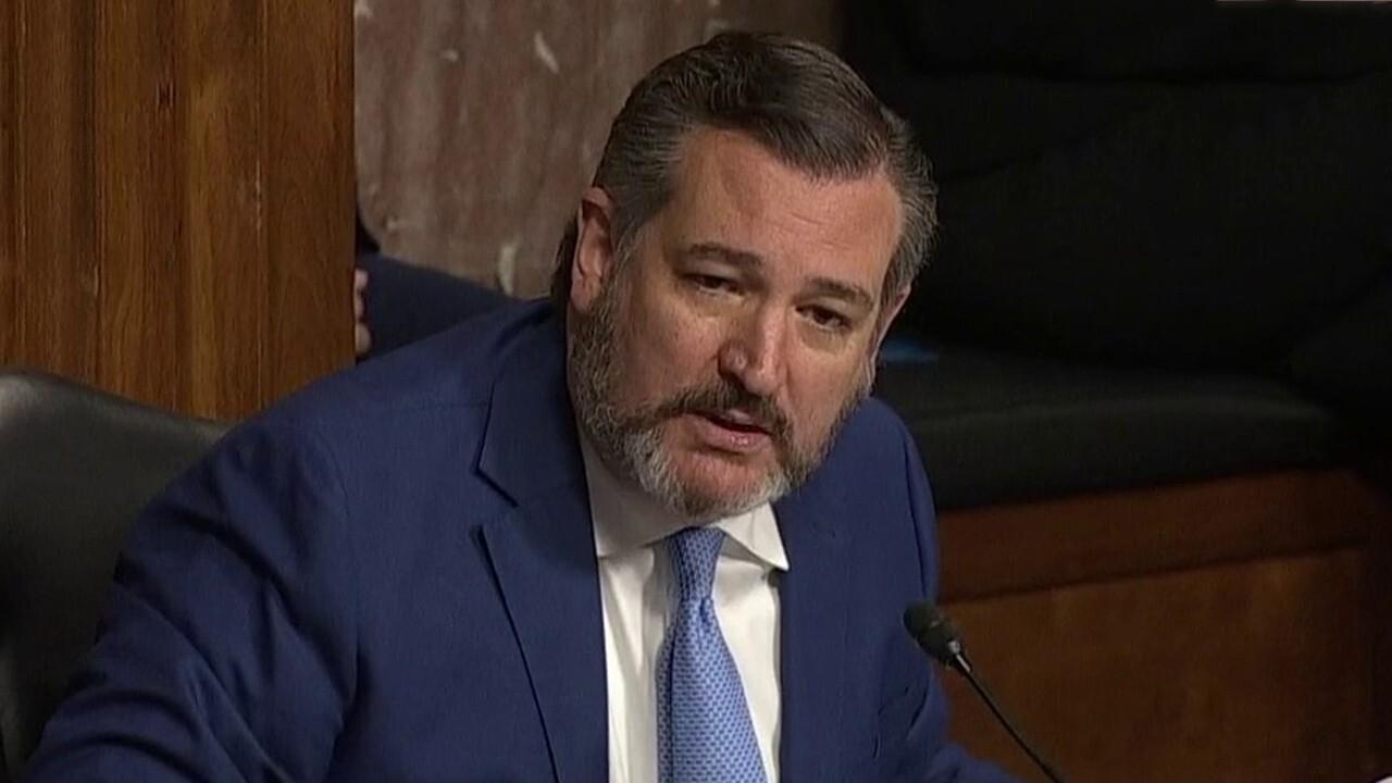 Sen. Cruz asks Rosenstein about his due diligence over Steele Dossier
