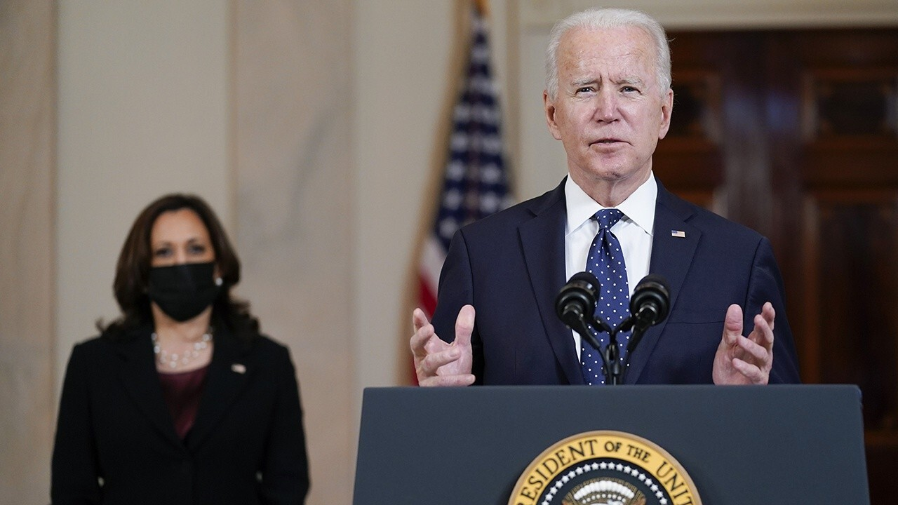 Biden getting pass as critics blame Kamala Harris for border crisis: Thiessen