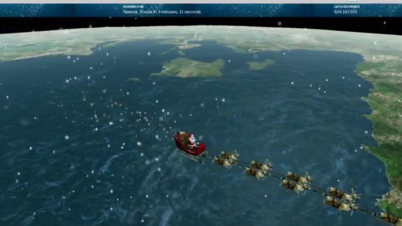 NORAD announces Santa's first visit to International Space Station