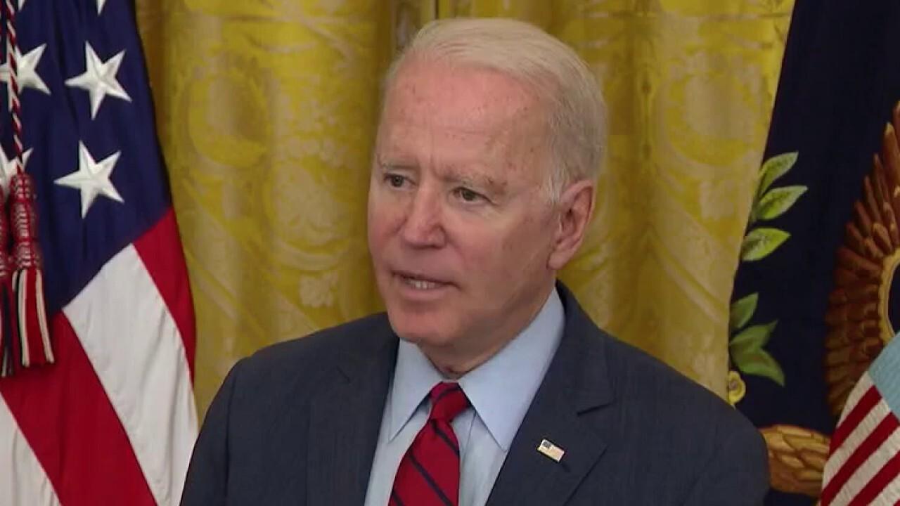 Biden backs off veto threat of bipartisan infrastructure deal