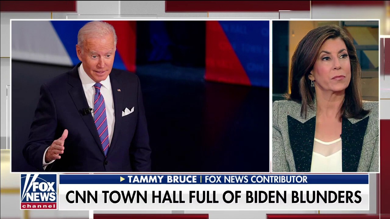 Tammy Bruce slams Biden's 'shocking' CNN town hall: 'Its as though he doesn't know he's president'