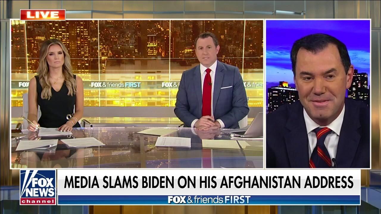 Media rips Biden for hypocrisy during Afghanistan address