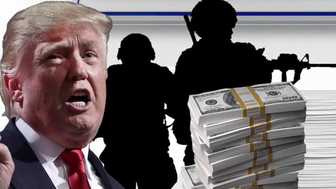 Trump feuds with fellow Republicans over defense bill