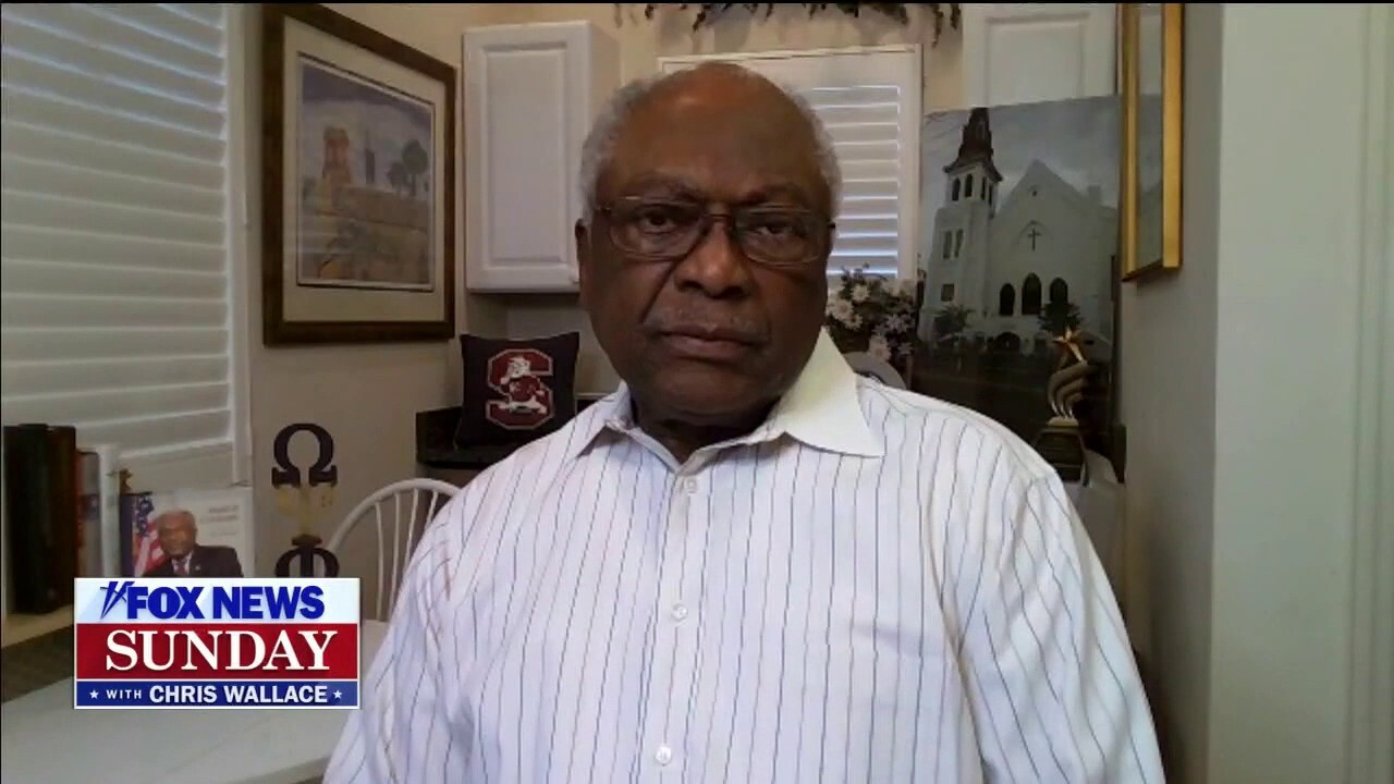 House Majority Whip Jim Clyburn, D-S.C., argues President Trump is 'unqualified to be president' in the wake of the Capitol riot. He also says Capitol police 'did a remarkable job' keeping him and other members of Congress safe.