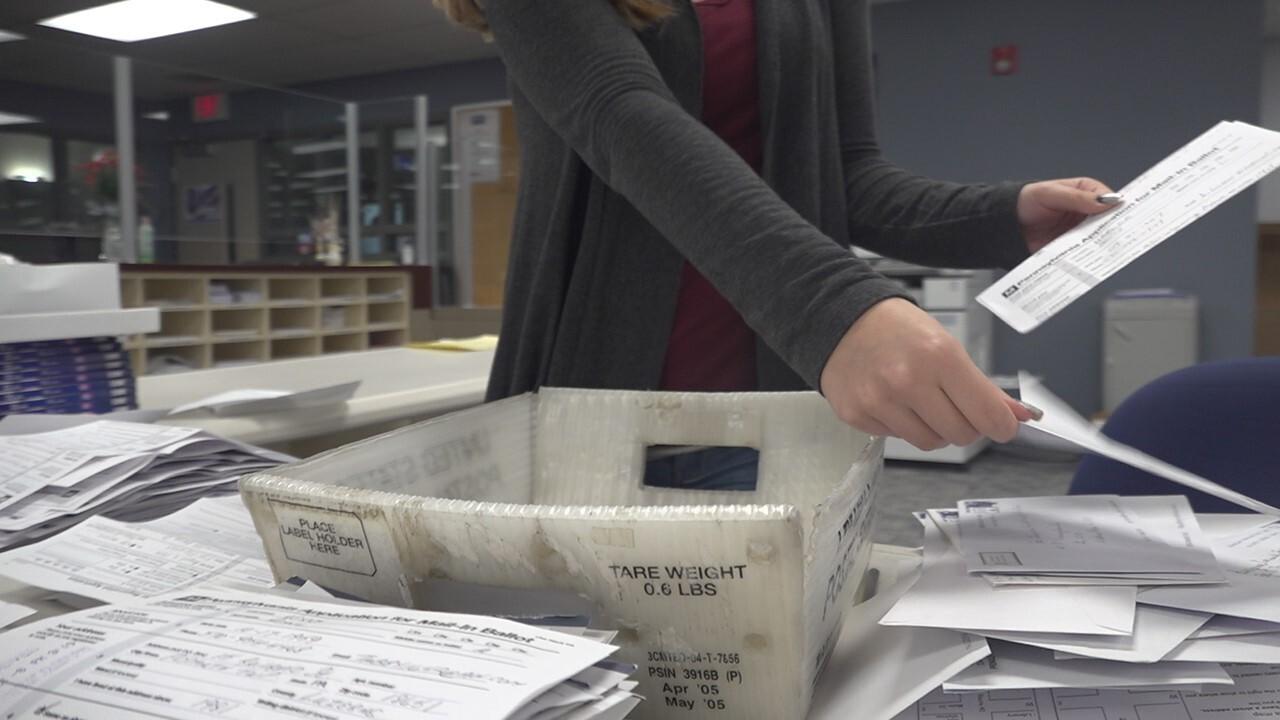 Mail-in ballot concerns in critical battleground states