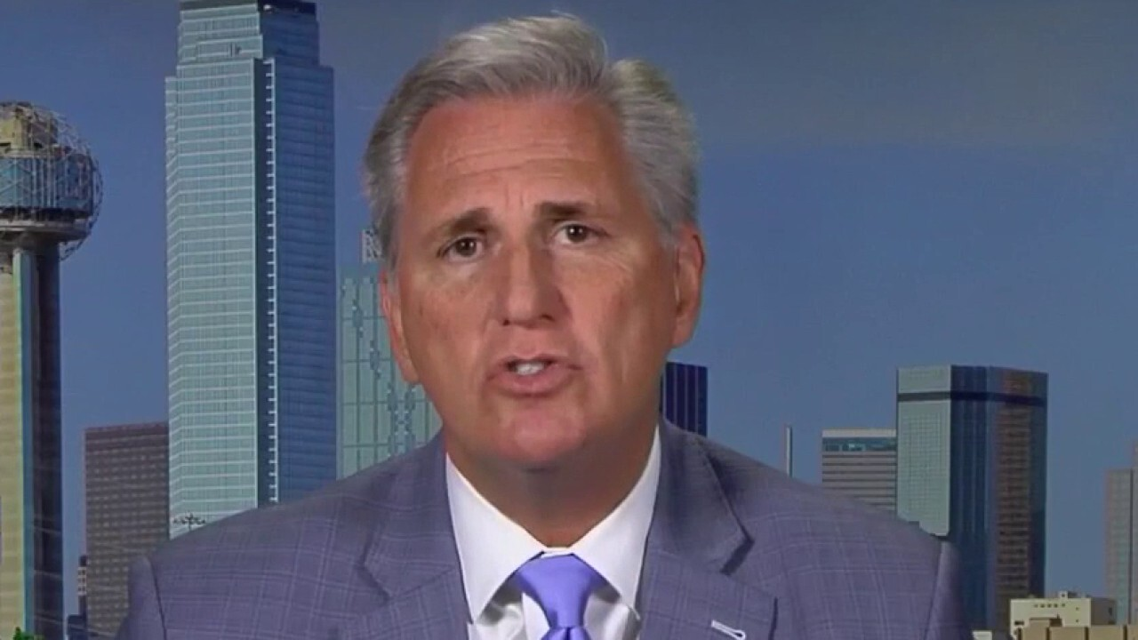Rep. Kevin McCarthy on COVID-19 stimulus negotiations: Pelosi is playing a political game
