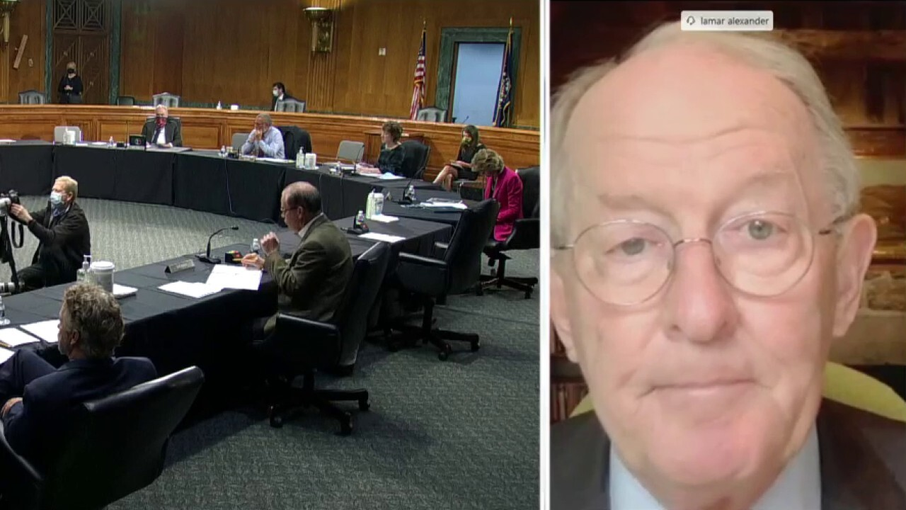 Sen. Alexander: Staying at home indefinitely is not the solution to this pandemic