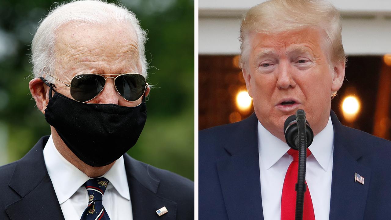 Joe Biden hits President Trump for golfing as US coronavirus death toll nears 100,000