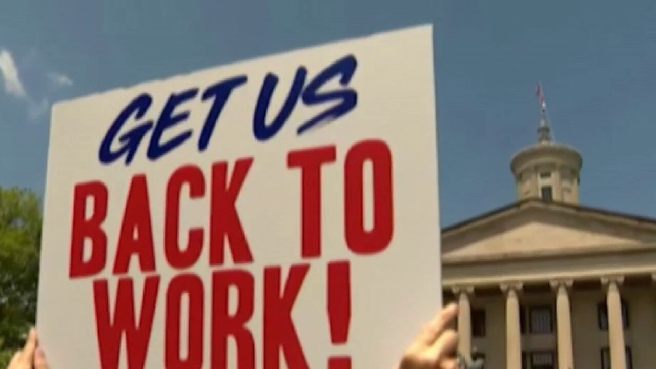 Back to work: Many anticipate slow process to re-open America