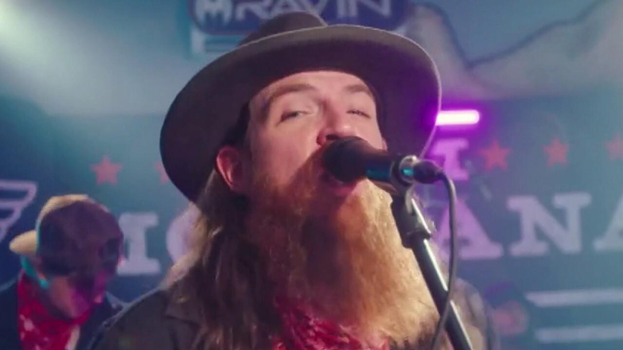 Tim Montana performs 'Do It Fast' on 'Fox & Friends'