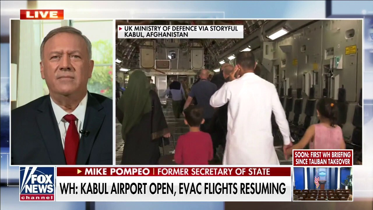 Pompeo on Taliban takeover of Afghanistan: Biden admin 'didn't project American strength'