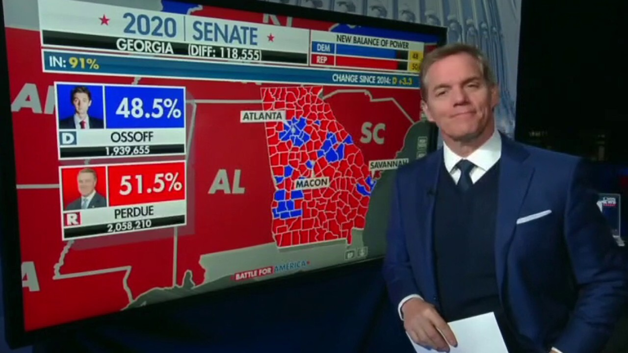 How much of the vote is left to count in Georgia Senate runoffs?