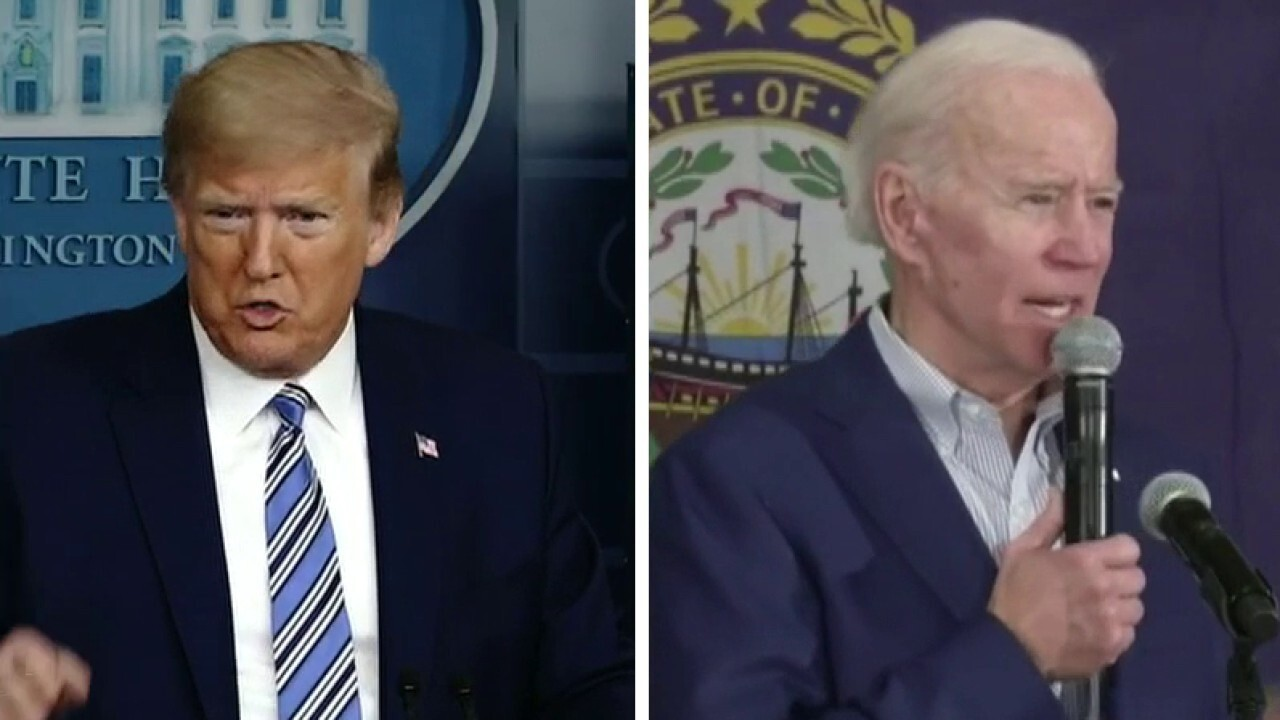Trump and Biden campaigns battle over who is tougher on China