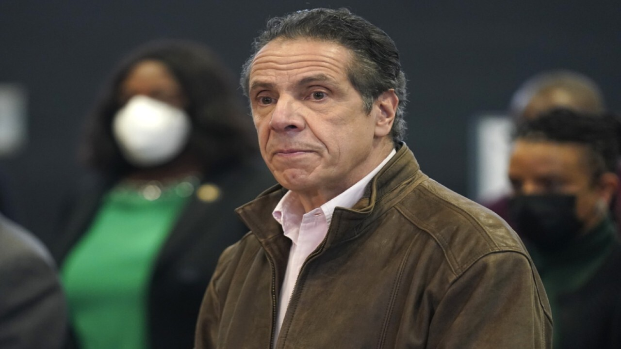 Geraldo Rivera on Cuomo harassment claim: 'How the mighty have fallen'